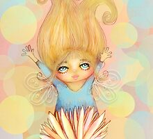 flower fairy by © Karin (Cassidy) Taylor