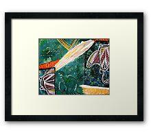 Dance of the Rays Framed Print