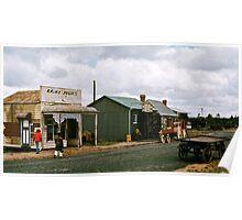 Main Street Moe Pioneers Settlement  19720215 0009 Poster
