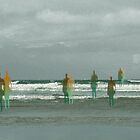 Seaside - day 27(3) by Marlies Odehnal