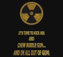 Duke Nukem - Chew Bubble Gum T-Shirt