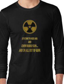Duke Nukem - Chew Bubble Gum Long Sleeve T-Shirt