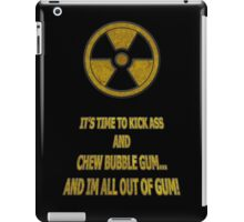 Duke Nukem - Chew Bubble Gum iPad Case/Skin