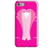 Tuxedo Pink iPhone Case/Skin