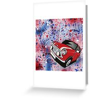 Mini Splatter 01 Painting Greeting Card