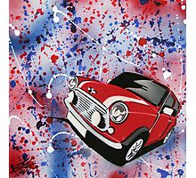 Mini Splatter 01 Painting Photographic Print