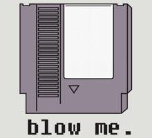 blow me. by wrestlemerch