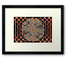 Wire Gnarls Framed Print