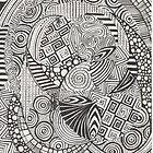 Black doodle by Lyndsey Hale