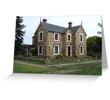 Historic House, Goulburn Greeting Card