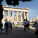 The Parthenon Temple of Athens by HELUA