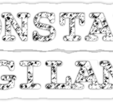 Constant Vigilance Sticker
