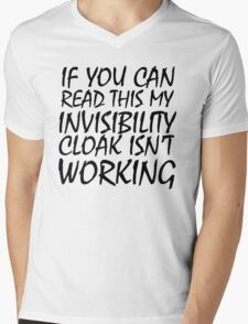 Invisibility Cloak Mens V-Neck T-Shirt