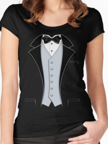 Tuxedo Classic Women's Fitted Scoop T-Shirt