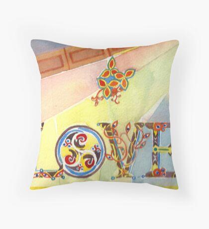 LOVE in COLOUR Throw Pillow