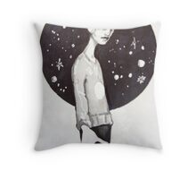 you're not from around here are you Throw Pillow