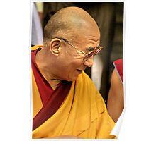 HH Dalai Lama. mcleod ganj, india Poster
