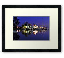 Carlo Point, Rainbow Beach at dusk. Queensland, Australia. Framed Print