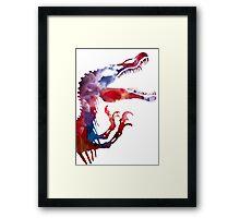 Funkospinosaurus Framed Print