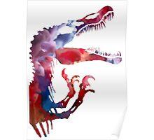 Funkospinosaurus Poster