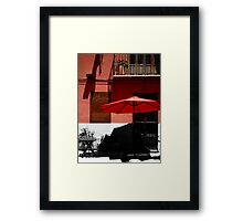 Do you see in Colour or Black and White ? Framed Print