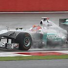 Michael Schumacher - Mercedes MGP W02 - Silverstone 2011 by MSport-Images