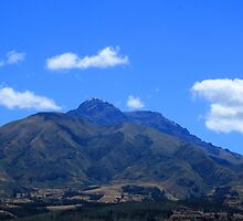 Volcano and Clouds by rhamm