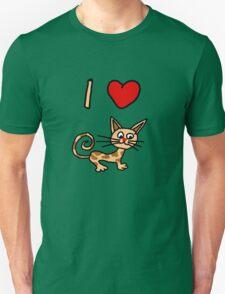 I LOVE CAT 2 T-Shirt
