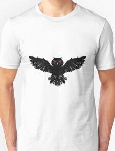 Black Owl 2 T-Shirt