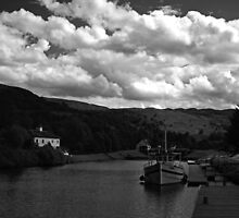 Excelsior and Cullochy Lock.  by Mbland