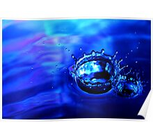 Drop 11 - Water Photography Poster