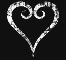 Kingdom Hearts Heart grunge by Greven