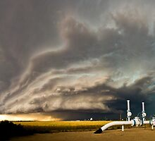 Supercell near Sharon Springs, Kansas by Troy Barrett