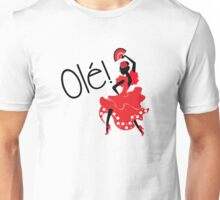 Flamenco Ole Spanish Dancer Unisex T-Shirt