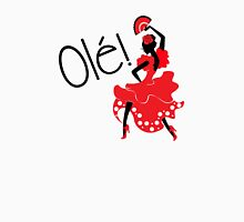 Flamenco Ole Spanish Dancer Unisex T-Shirt