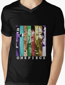 one piece luffy nami robin chopper sanji zoro usopp brook franky anime manga shirt Mens V-Neck T-Shirt