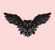 Black Owl 4 One Piece - Long Sleeve