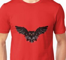 Black Owl 4 Unisex T-Shirt