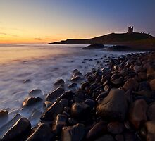 Dunstanburgh Castle at Sunrise by Darren Turner