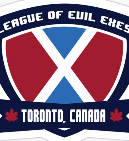 League of Evil X's Sticker