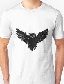 Black Owl 5 Unisex T-Shirt