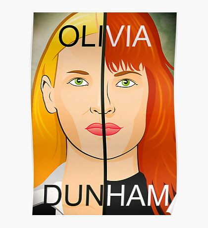 Olivia VS Fauxlivia | Fringe Poster