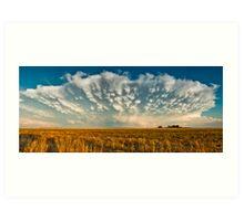 Severe Thunderstorm - Healy, Kansas Art Print