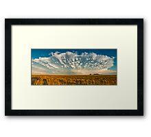 Severe Thunderstorm - Healy, Kansas Framed Print