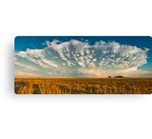 Severe Thunderstorm - Healy, Kansas Canvas Print