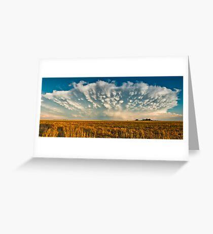 Severe Thunderstorm - Healy, Kansas Greeting Card