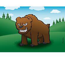 Angry Bear Photographic Print