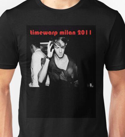 Richie Hawtin Timewarp Milan 2011 Unisex T-Shirt