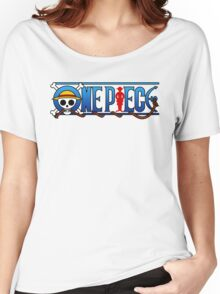 one piece logo Women's Relaxed Fit T-Shirt