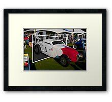 So-Cal Time Machine Framed Print
